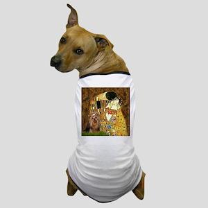 """Klimpt's """"The Kiss"""" & Yorkie Dog T-Shirt"""