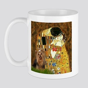 "Klimpt's ""The Kiss"" & Yorkie Mug"