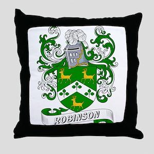 Robinson Coat of Arms Throw Pillow