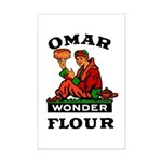 OMAR FLOUR Mini Poster Print