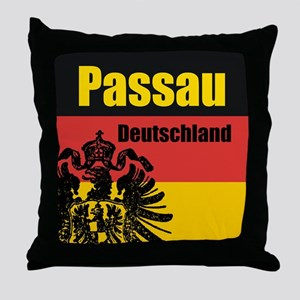 Passau Deutschland Throw Pillow