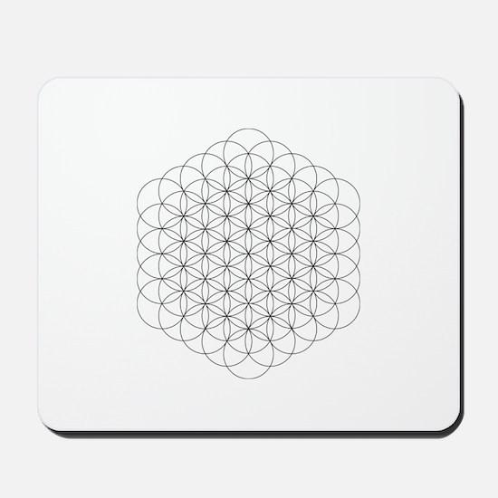 Flower of Life Mousepad