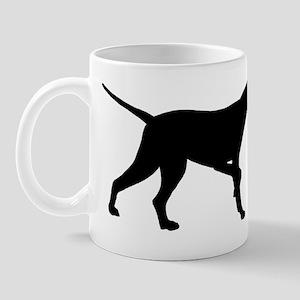 Pointer Dog On Point Mug