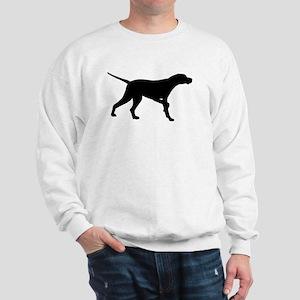Pointer Dog On Point Sweatshirt