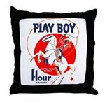 Play Boy Flour Throw Pillow