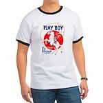 Play Boy Flour Ringer T