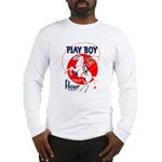 Play Boy Flour Long Sleeve T-Shirt