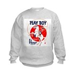 Play Boy Flour Kids Sweatshirt
