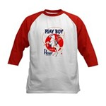 Play Boy Flour Kids Baseball Jersey