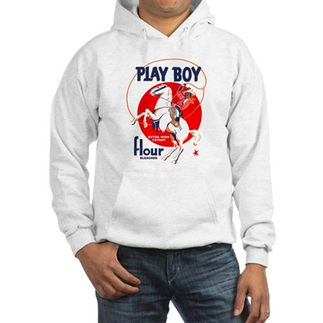 Play Boy Flour Hooded Sweatshirt