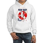 Play Boy Flour Hooded Sweatshirt