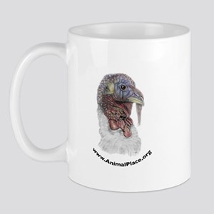 Animal Place Beautifully Colored Turkey Mug