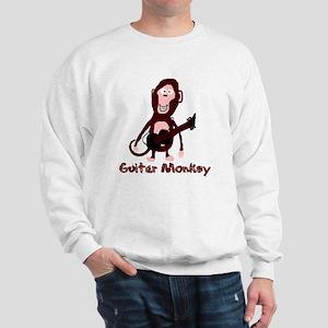 guitar monkey Sweatshirt