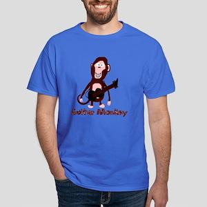 guitar monkey Dark T-Shirt