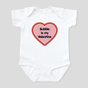 Bubbie is My Valentine Baby Onesie