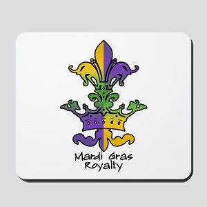 Mardi Gras Royalty Mousepad