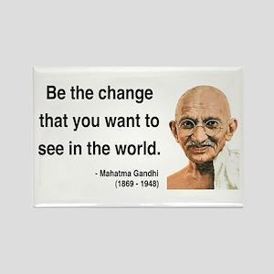 Gandhi 1 Rectangle Magnet