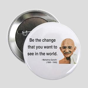 """Gandhi 1 2.25"""" Button"""