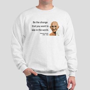 Gandhi 1 Sweatshirt