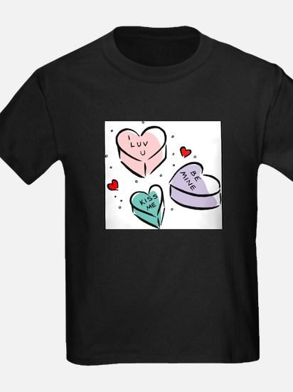 Heart Shaped Candy Women's T-Shirt