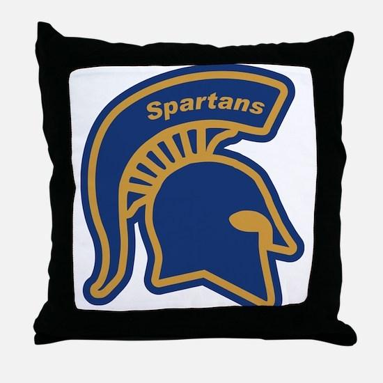 Cute Spartan Throw Pillow
