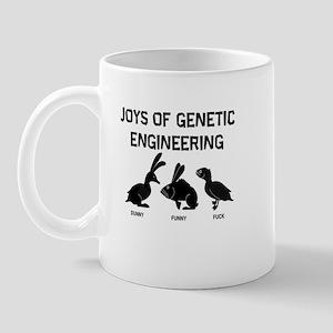 """Joys Of Genetic Engineering"" Mug"