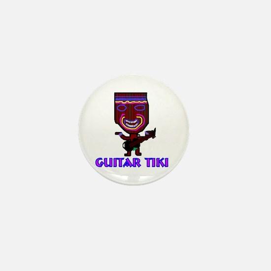 guitar tiki Mini Button