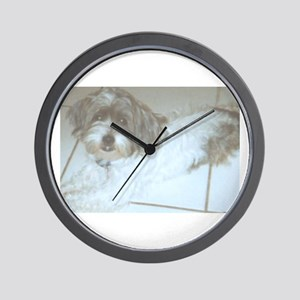 Cute Jack-Shitz, too! Wall Clock