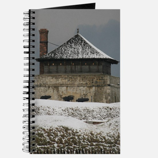 Old Ft Niagara Guardhouse Winter Photograph Journa