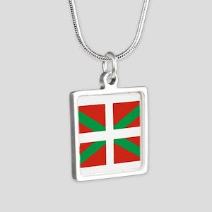 IKURRINA IKURRIÑA DRAPEAU BASQUE EU Necklaces