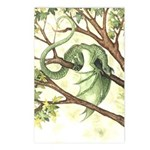 Green Fairy Dragon Postcards (Package of 8)
