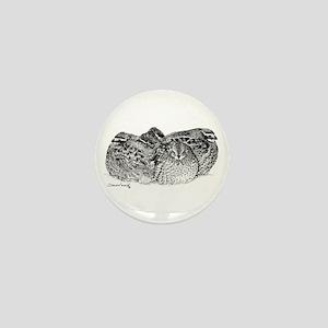 Bob White Quail Mini Button