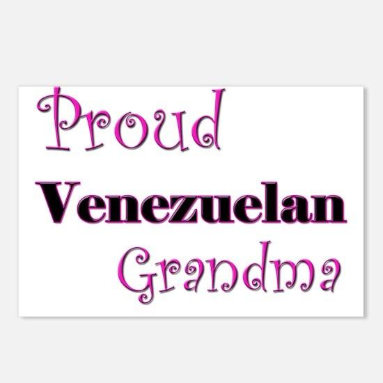Proud Venezuelan Grandma Postcards (Package of 8)