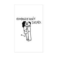 Romance (b) Rectangle Sticker