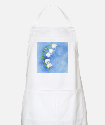 Lily of the Valley BBQ Apron