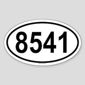 8541 Oval Sticker