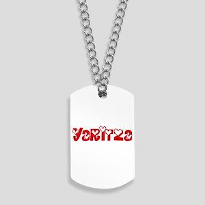 Yaritza Love Design Dog Tags