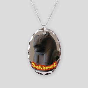 Sekhmet Necklace Oval Charm