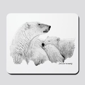 Polar Bears Mousepad