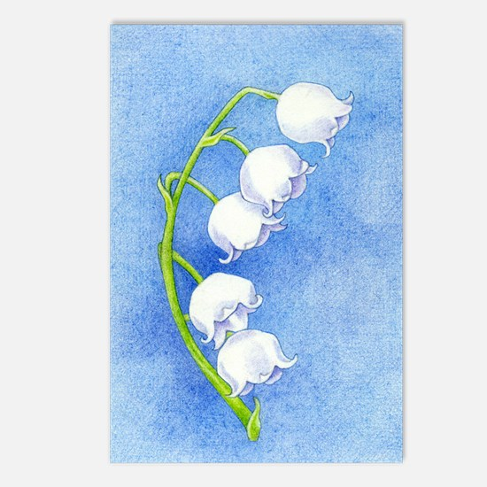 Lily of the Valley Postcards (Package of 8)