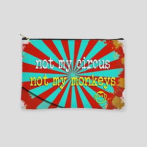 Not My Circus Not My Monkeys Makeup Bag