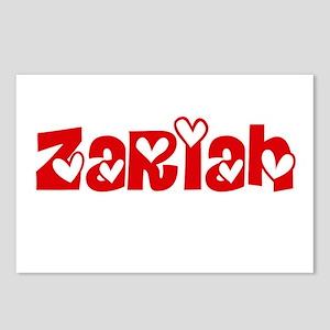 Zariah Love Design Postcards (Package of 8)