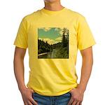 Scenic Eel River Yellow T-Shirt