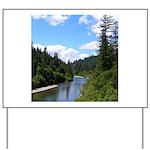 Scenic Eel River Yard Sign