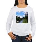 Scenic Eel River Women's Long Sleeve T-Shirt