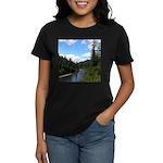 Scenic Eel River Women's Dark T-Shirt