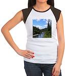 Scenic Eel River Women's Cap Sleeve T-Shirt