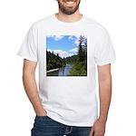 Scenic Eel River White T-Shirt