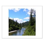 Scenic Eel River Small Poster