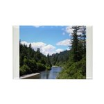 Scenic Eel River Rectangle Magnet (10 pack)